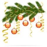 Christmas fir tree Royalty Free Stock Images