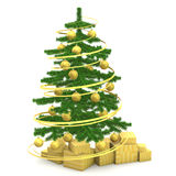 Christmas fir-tree Stock Image