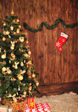 Christmas fir tree Royalty Free Stock Image