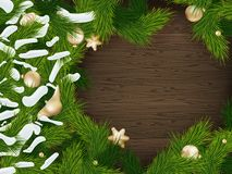Christmas fir tree background. EPS 10 Royalty Free Stock Images