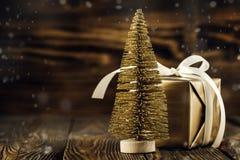 Christmas fir tree and balls Royalty Free Stock Image