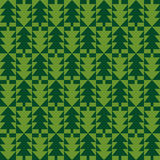Christmas fir tree seamless pattern Royalty Free Stock Photography