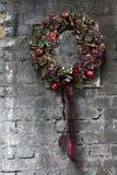 Christmas fir tree wreath Royalty Free Stock Photo