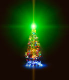 Christmas firtree Stock Photography