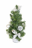 Christmas firtree isolated Royalty Free Stock Image