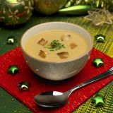 Christmas fish soup Stock Photography