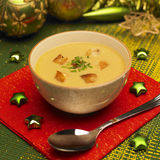 Christmas fish soup Royalty Free Stock Photos