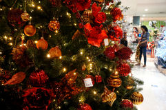Christmas fixtures Royalty Free Stock Image