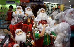 Christmas fixtures Stock Images