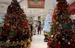 Christmas fixtures Stock Photo