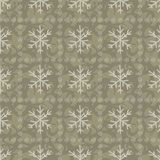 Christmas Flakes Pattern Stock Photo