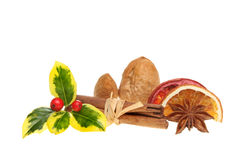 Christmas flavors Stock Image