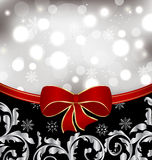 Christmas floral background Stock Images