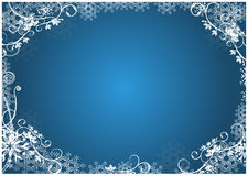 Christmas floral background Royalty Free Stock Photo