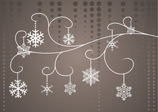 Christmas Floral Royalty Free Stock Photography
