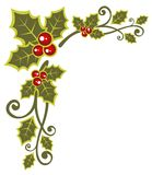 Christmas Floral Pattern Royalty Free Stock Photo