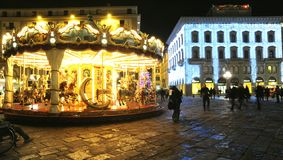 Christmas in Florence 2014 , Italy Stock Photography
