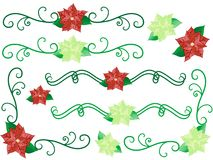 Christmas flower Royalty Free Stock Images
