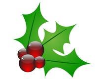 Christmas flower vector illustration