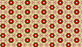 Christmas Flower Background Seamless Pattern Royalty Free Stock Image