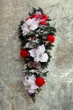 Christmas flowers stock image