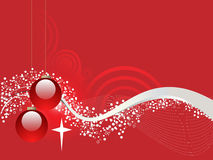 Christmas flowing background Stock Photo