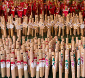 Christmas flutes Stock Photos