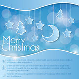 Christmas Flyer Royalty Free Stock Photos
