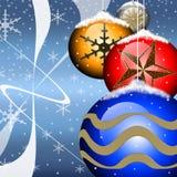 Christmas flyer Royalty Free Stock Photo