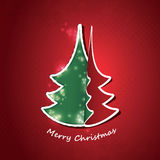 Christmas Flyer or Cover Design Royalty Free Stock Photography