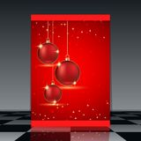 Christmas flyer Royalty Free Stock Image