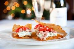 Christmas food Stock Images