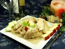 Christmas food Stock Photo