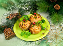 Christmas food Royalty Free Stock Photo