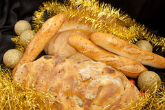 Christmas Food - Bread Stock Photos