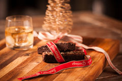 Christmas food and drink Royalty Free Stock Photo