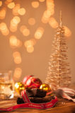 Christmas food and drink Royalty Free Stock Photos