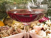 Christmas Food and Drink Stock Photo