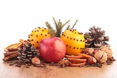 Christmas food and ingredients Stock Photography