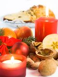 Christmas food still life Royalty Free Stock Images