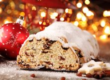 Christmas food Stock Image
