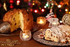 Christmas food Royalty Free Stock Photography