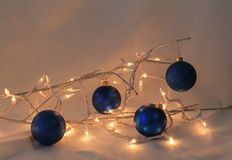 Christmas for Four Stock Image