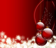 Christmas frame. Beautiful Christmas background - computer generated for your projects Royalty Free Stock Image