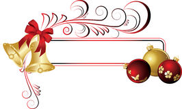 Christmas frame. The  illustration contains the image of christmas background Royalty Free Stock Photography