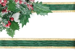 Christmas Frame Royalty Free Stock Images