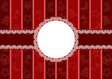 Christmas frame. Royalty Free Stock Photos