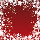 Christmas frame. Royalty Free Stock Images