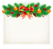 Christmas  frame Stock Image