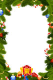 Christmas Frame Royalty Free Stock Photos
